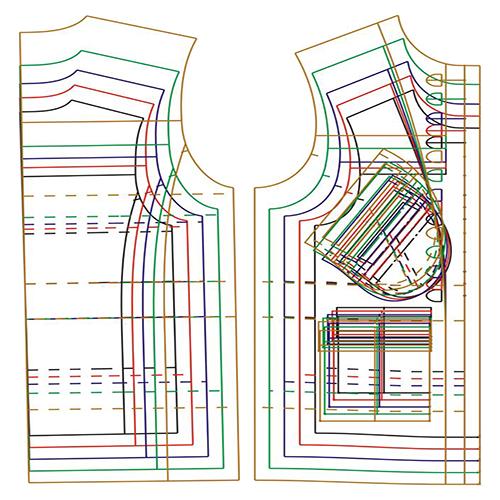 Лекала детской одежды - Разработка лекал